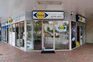 Focus Optometrists Sherwood QLD Exterior Shot