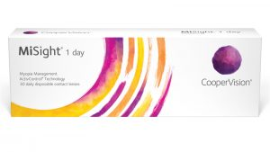 MiSight contact lenses by Coopervision